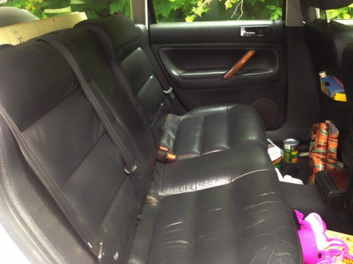 Full storage and I can still have the back seats!